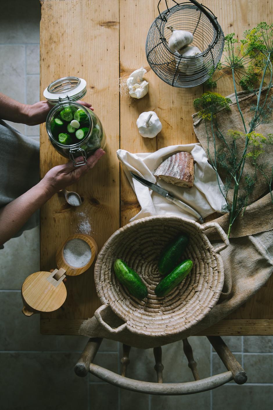 kovászos uborka az Emlékek Íze konyjájából/fermented cucumber from the Taste of Memories country kitchen www.tasteofmemories.com